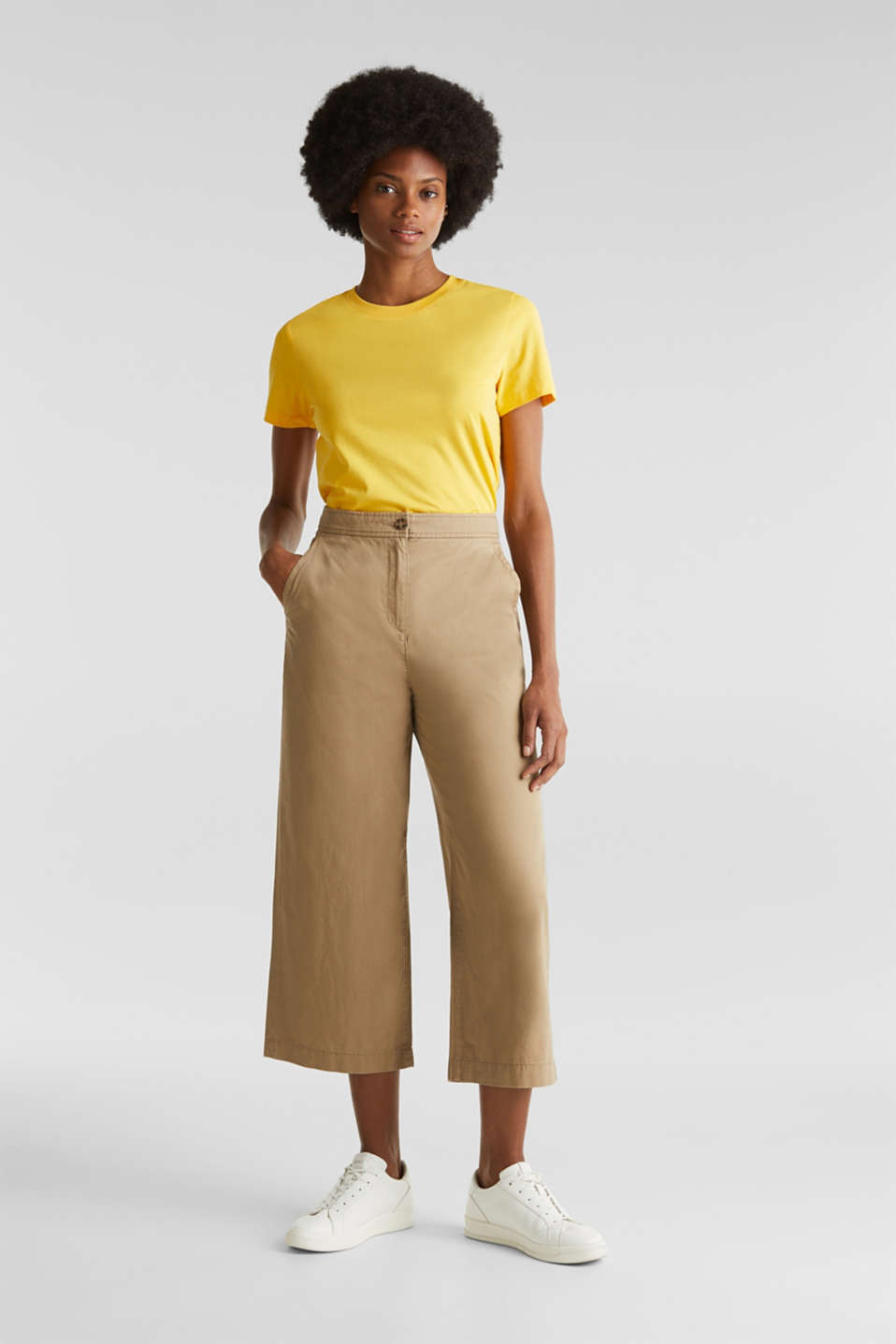 Esprit - Culottes made of 100% cotton