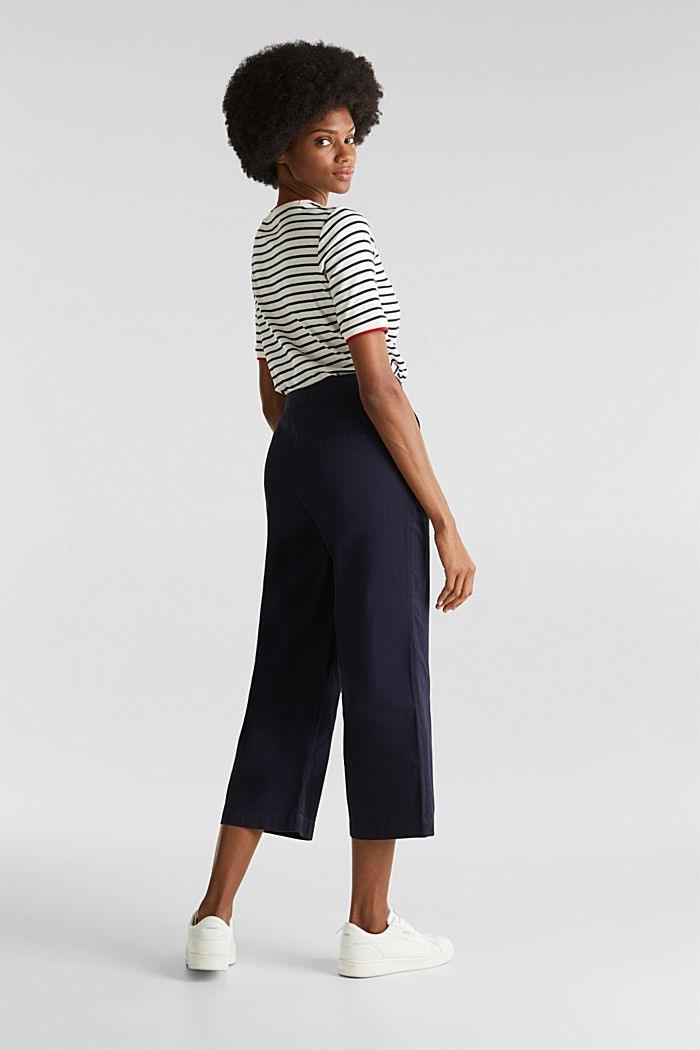 Culottes made of 100% cotton, NAVY, detail image number 5