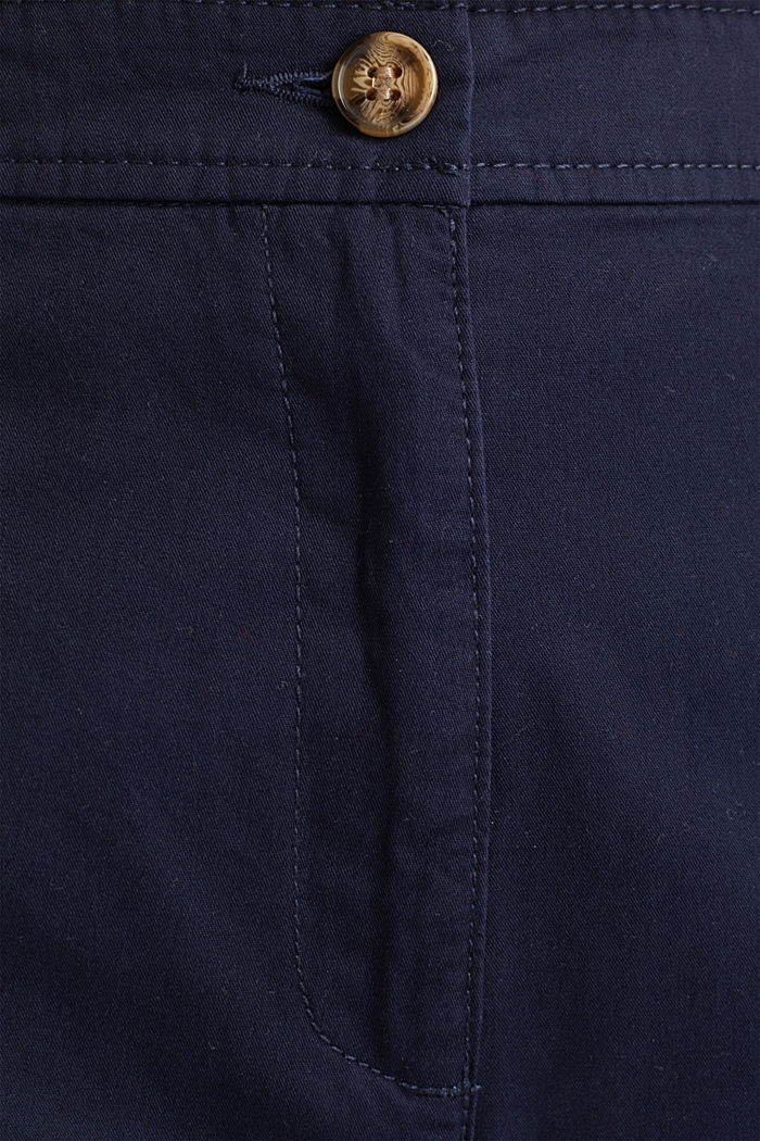 Culottes made of 100% cotton, NAVY, detail image number 4