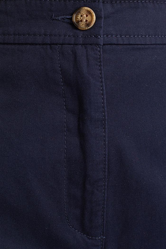Culotte aus 100% Baumwolle, NAVY, detail image number 4