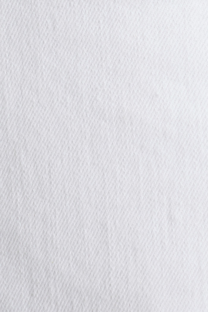 Vaqueros elásticos con cintura alta, WHITE, detail image number 4