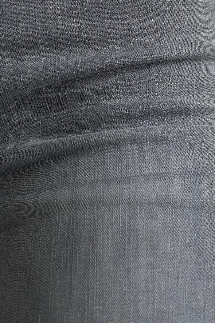 Shaping-Jeans mit High-Waist-Bund, GREY MEDIUM WASHED, detail image number 4