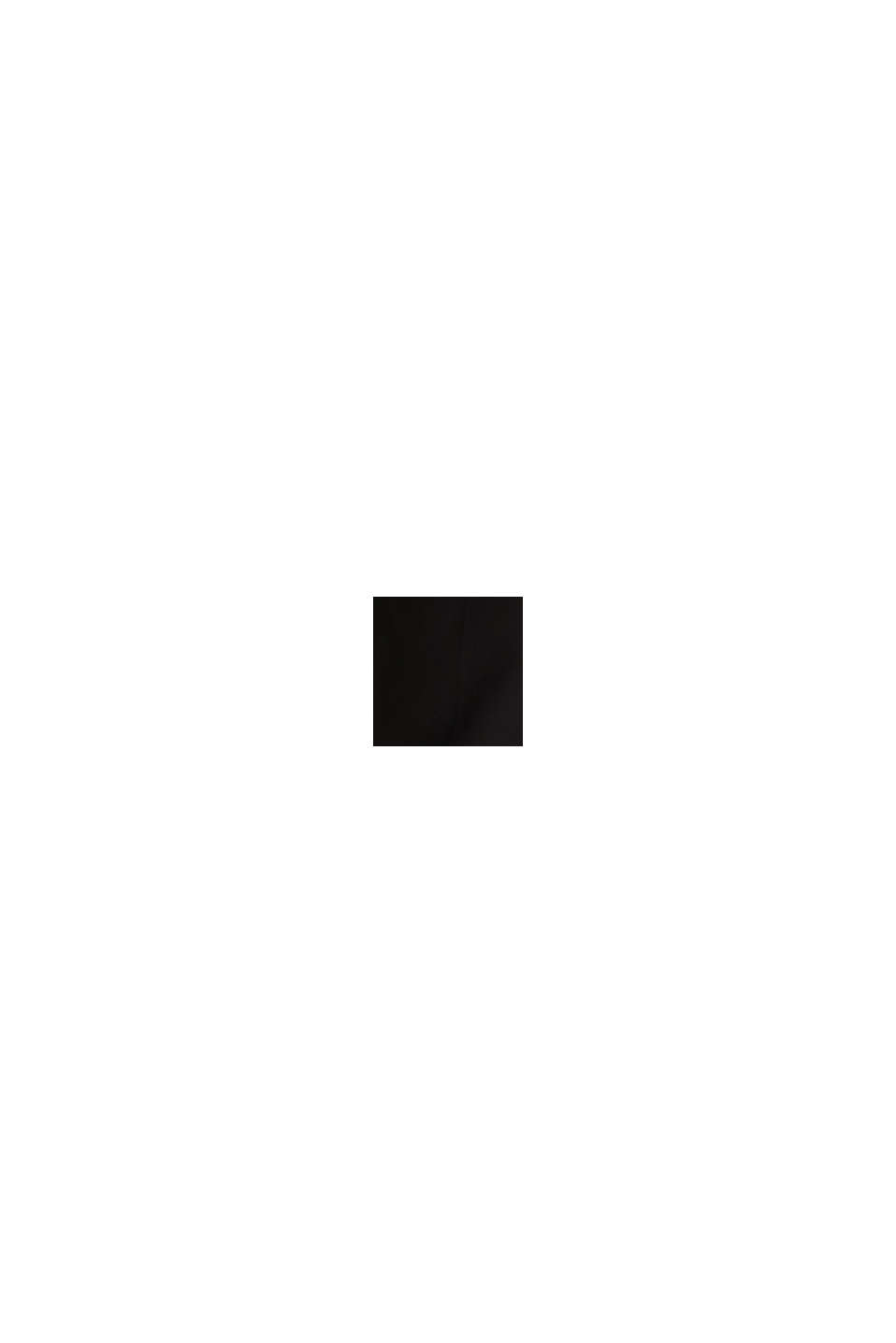 Mit TENCEL™: Pants mit Bundfalten, BLACK, swatch