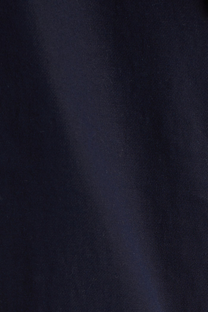 Mit TENCEL™: Pants mit Bundfalten, NAVY, detail image number 4