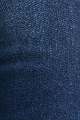 Jeans with piping, BLUE MEDIUM WASH, detail