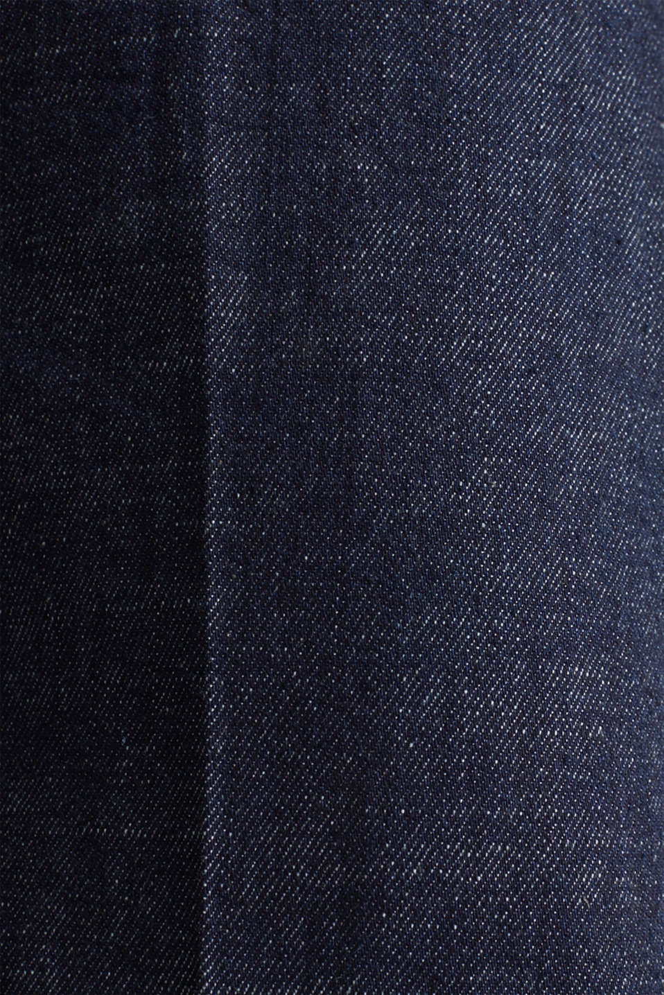 Denim culottes with Lycra®, BLUE RINSE, detail image number 4