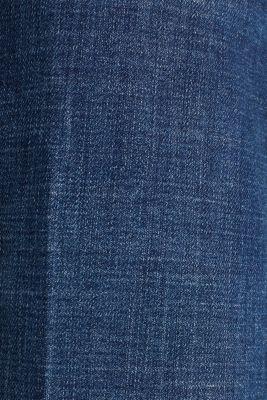Denim culottes with Lycra®, BLUE DARK WASH, detail