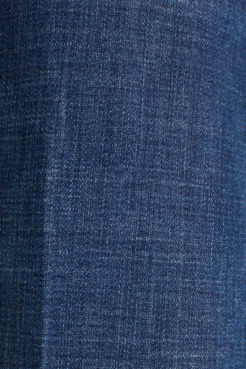 Denim culottes with Lycra®, BLUE DARK WASH, detail image number 4