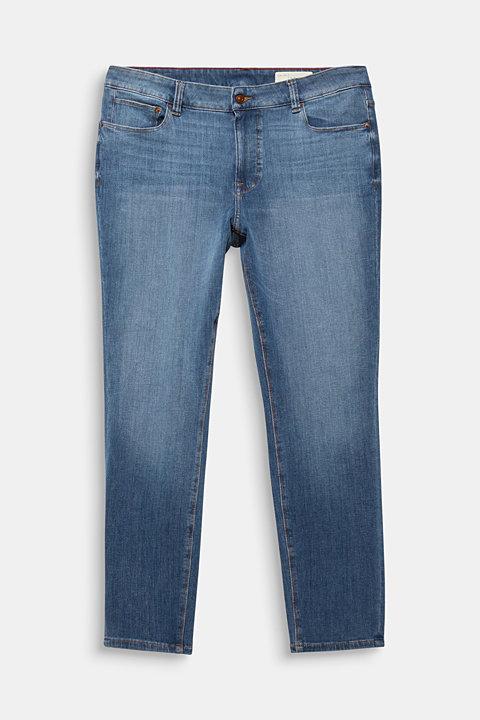 CURVY skinny two-way stretch jeans