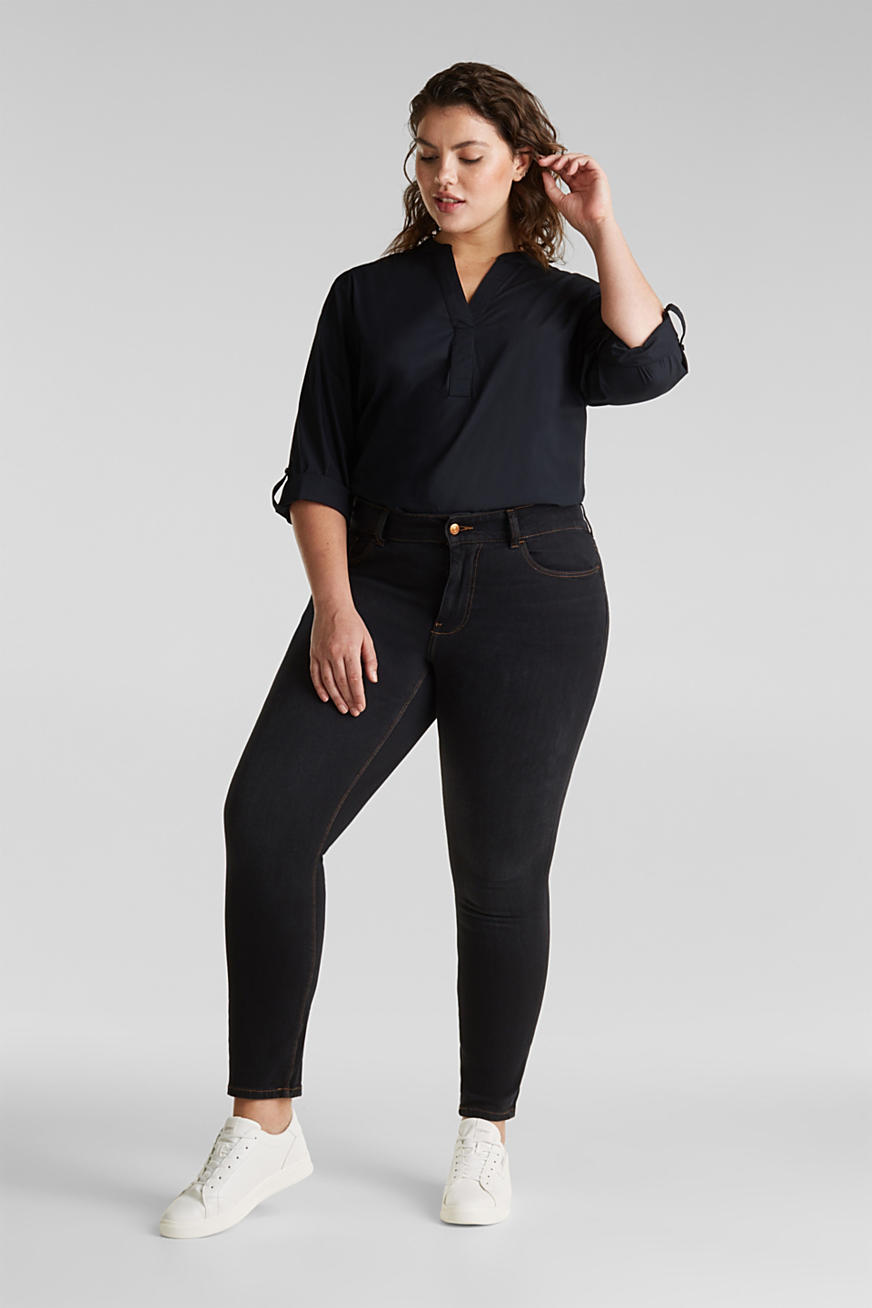 CURVY two-way stretch jeans