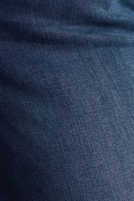 CURVY jeans with a high percentage of stretch, BLUE DARK WASH, detail