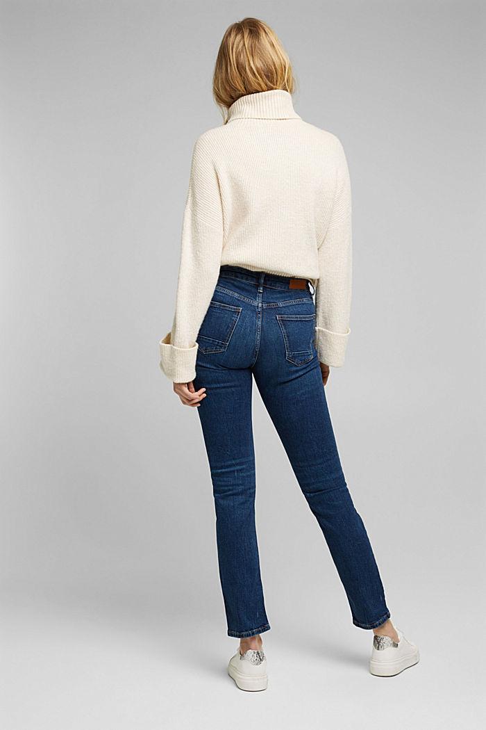 TENCEL™-Jeans mit Organic Cotton, BLUE DARK WASHED, detail image number 2