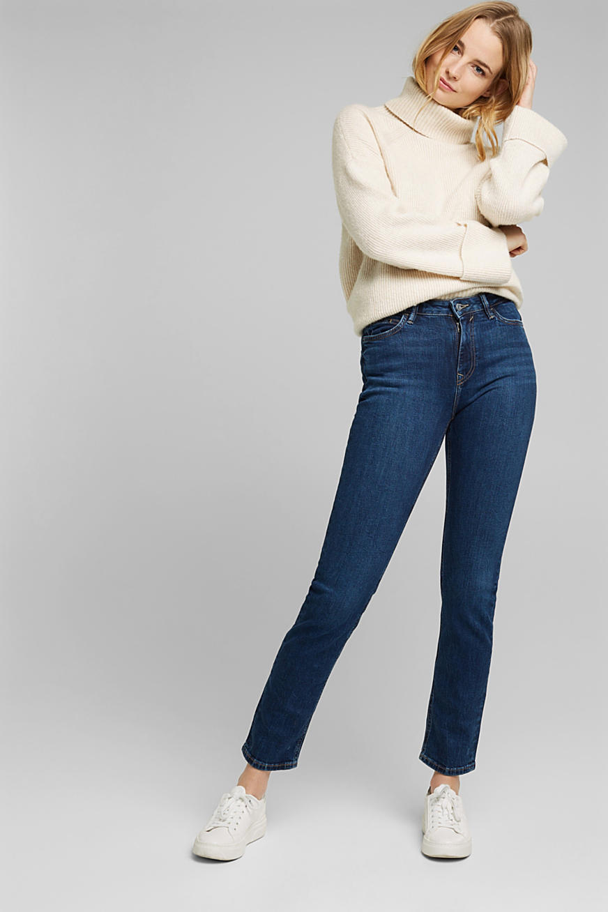 TENCEL™ jeans met organic cotton