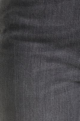 High-waisted jeans with TENCEL™, GREY MEDIUM WASH, detail