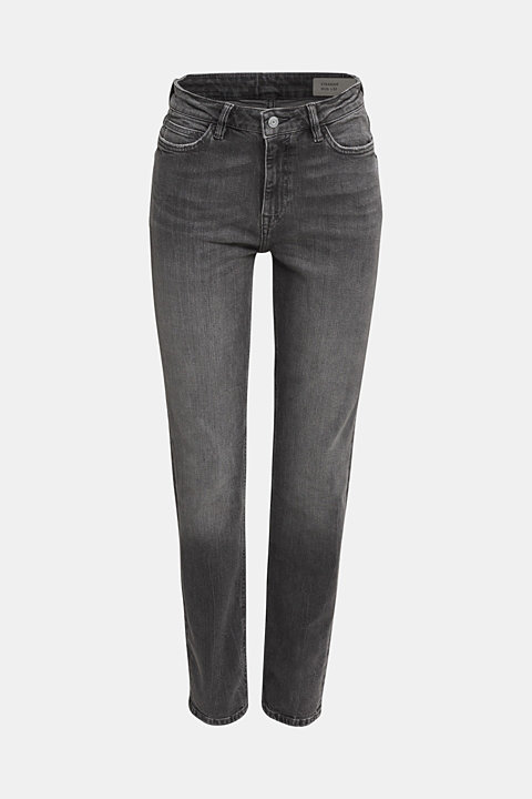 High-waisted jeans with TENCEL™