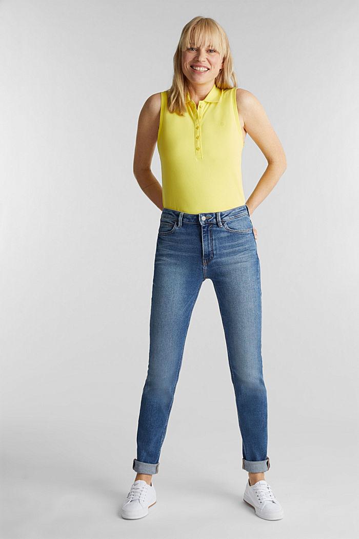 Jeans im Washed-Look, BLUE MEDIUM WASHED, detail image number 0