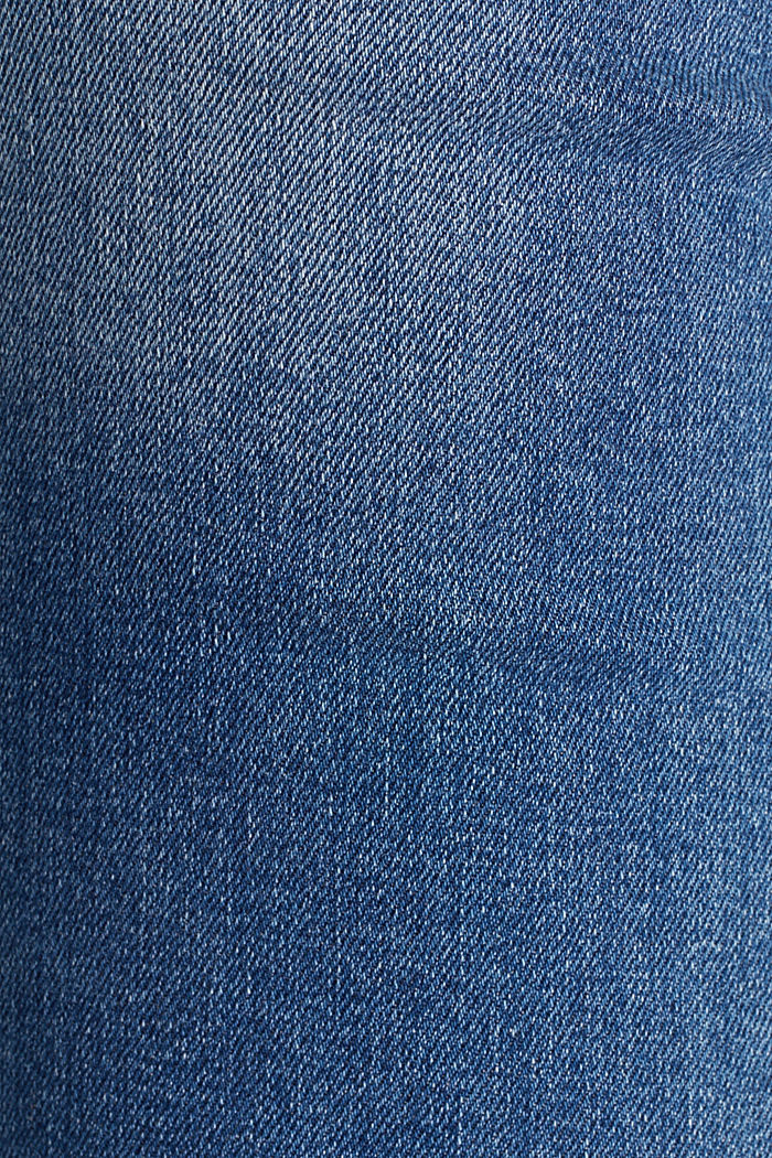 Jeans with a garment-washed effect, BLUE MEDIUM WASHED, detail image number 4