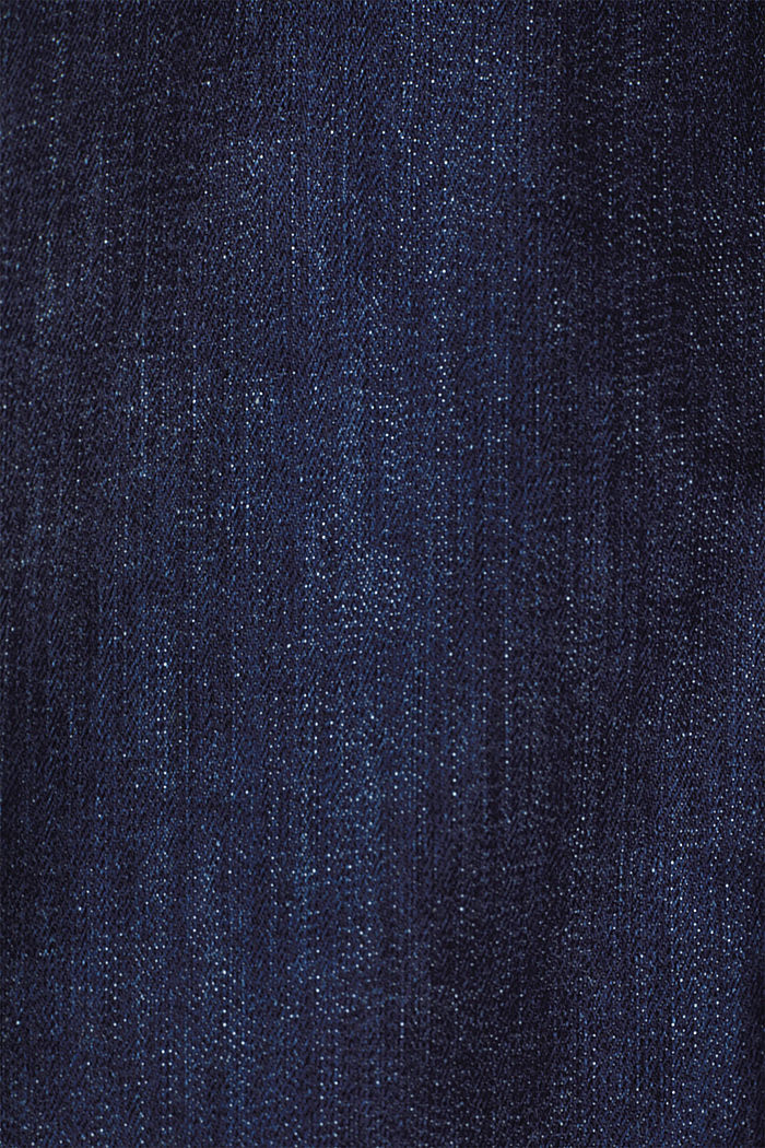 Denim-Rock mit Bandana-Bindegürtel, BLUE RINSE, detail image number 4
