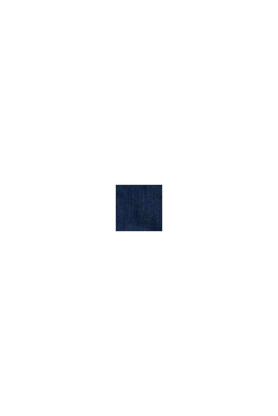 Denim-Rock mit Bandana-Bindegürtel, BLUE RINSE, swatch