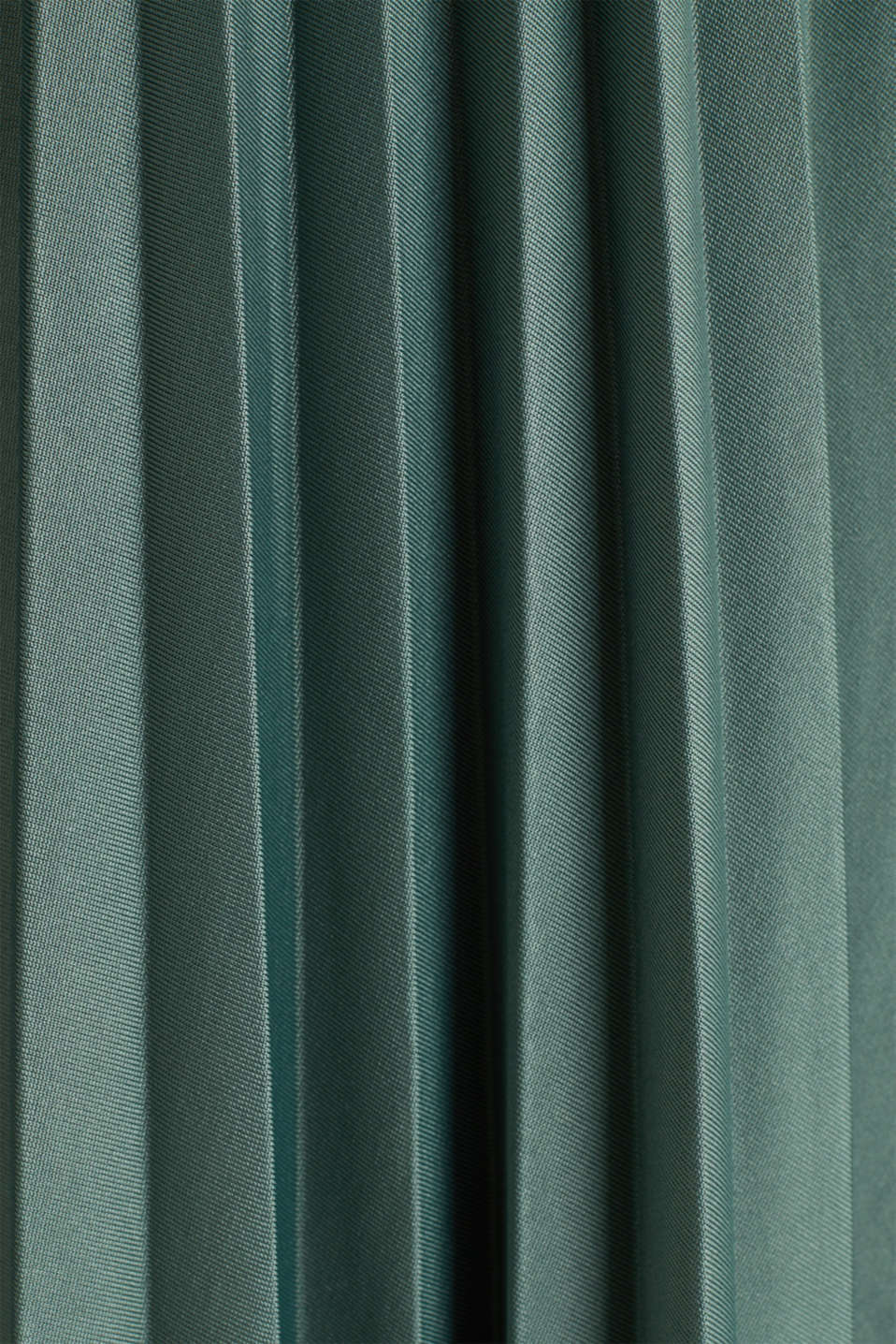 Stretch jersey skirt with accordion pleats, KHAKI GREEN, detail image number 4