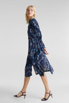 Shirt dress with bandana print, NAVY 4, detail