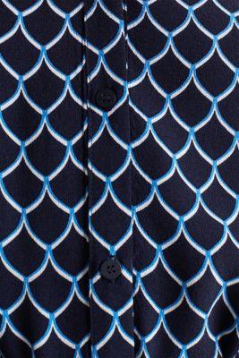 Shirt dress made of LENZING™ ECOVERO™, NAVY 4, detail