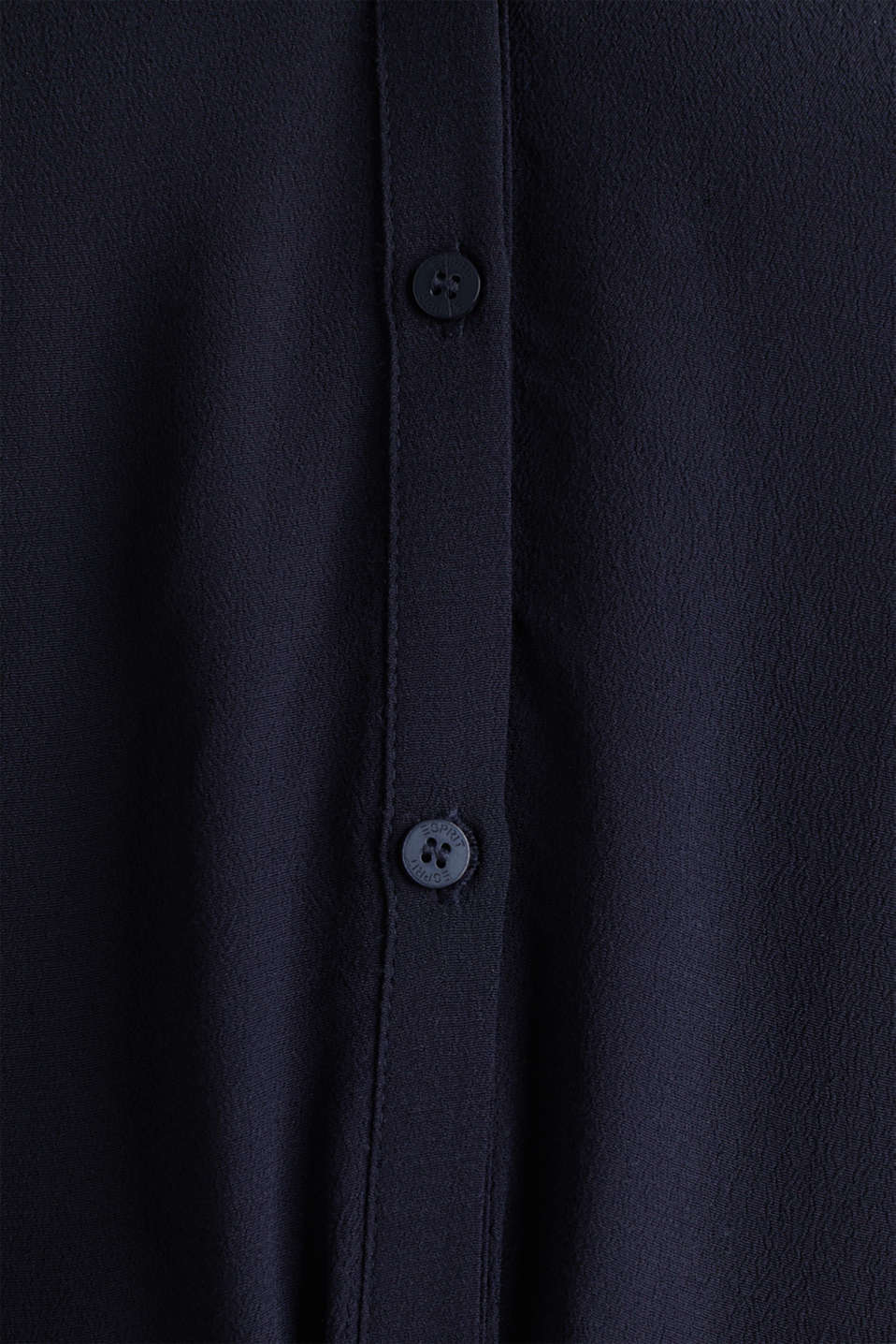 Shirt dress made of LENZING™ ECOVERO™, NAVY 3, detail image number 4
