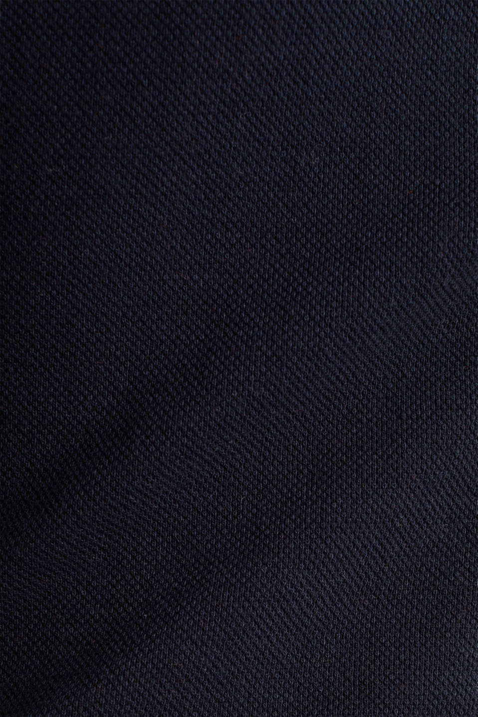 Stretch piqué dress with a flared skirt, NAVY, detail image number 4