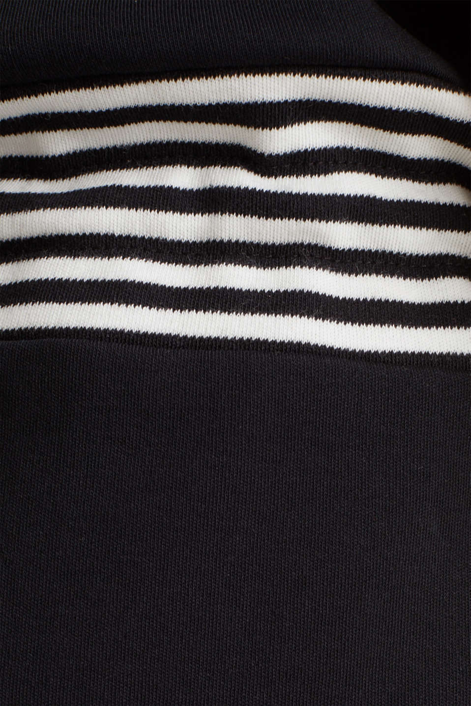 Jersey dress made of 100% cotton, BLACK, detail image number 4