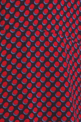 CURVY woven dress made of LENZING™ ECOVERO™, NAVY 4, detail
