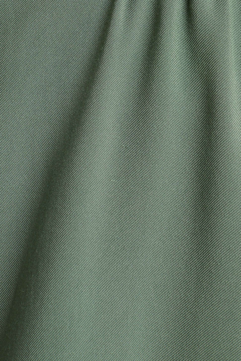 Shirt dress in a utility style, KHAKI GREEN, detail image number 4