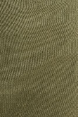 Utility dress made of stretch cotton, KHAKI GREEN, detail