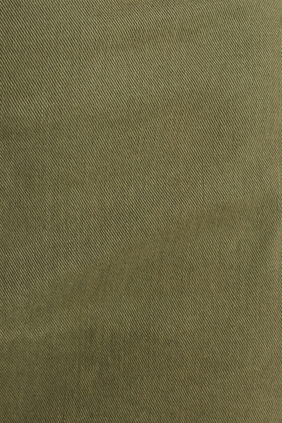 Utility dress made of stretch cotton, KHAKI GREEN, detail image number 4