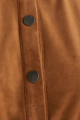 Faux leather dress with a press studs, TOFFEE, detail