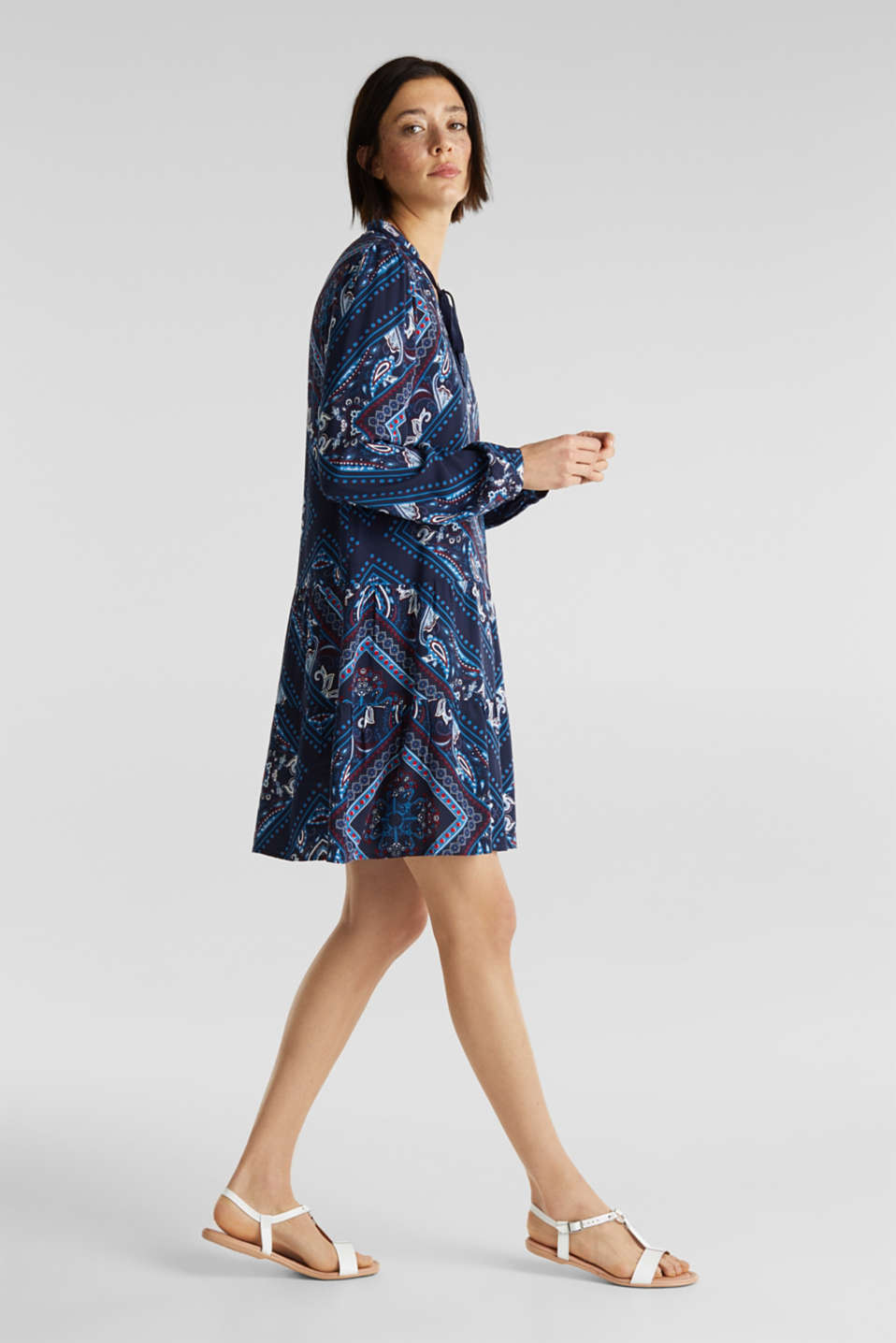 Esprit - Printed smock dress