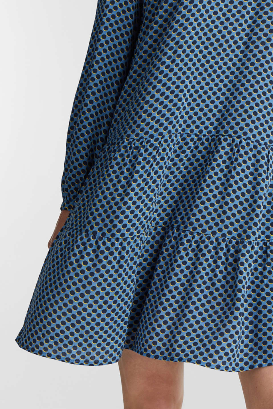 Printed smock dress, LIGHT BLUE 4, detail image number 3