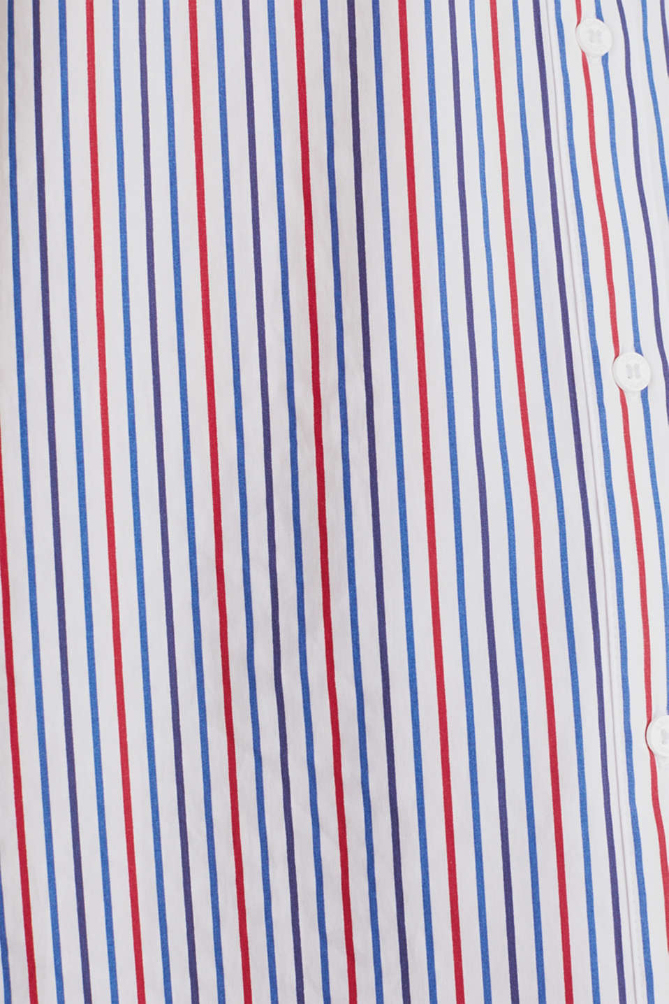 Oversized stretch blouse with multicoloured stripes, WHITE 4, detail image number 4