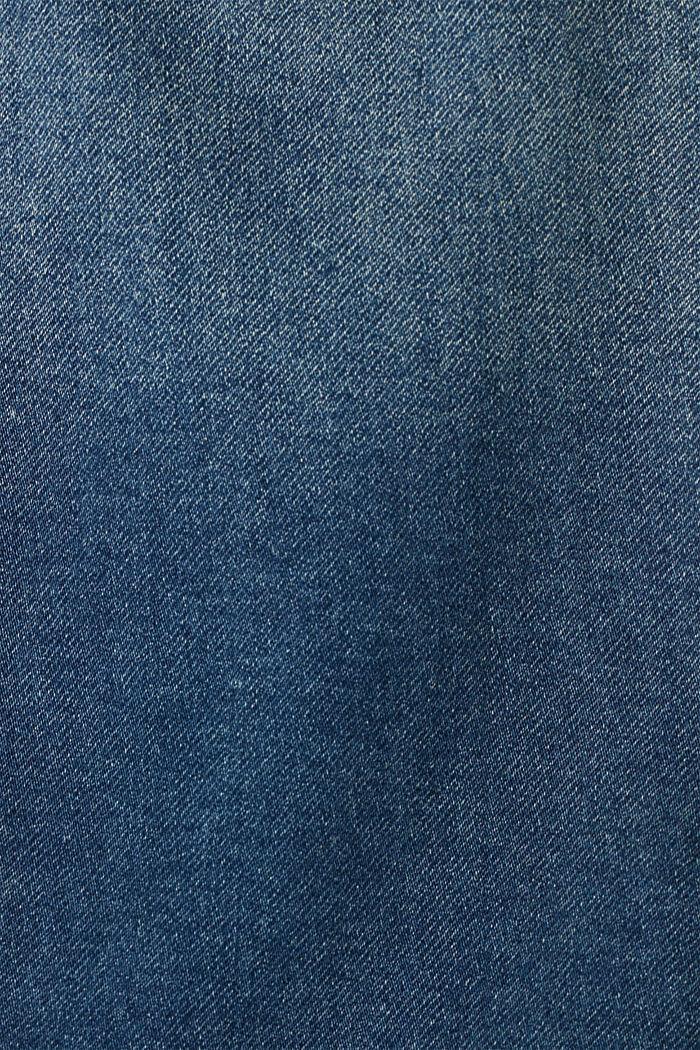 Stretch denim jacket, organic cotton, BLUE MEDIUM WASHED, detail image number 4