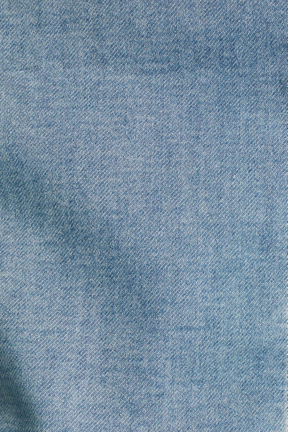 Stretch denim jacket with organic cotton, BLUE LIGHT WASH, detail image number 4