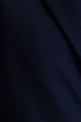 CURVY unlined piqué blazer, NAVY, detail