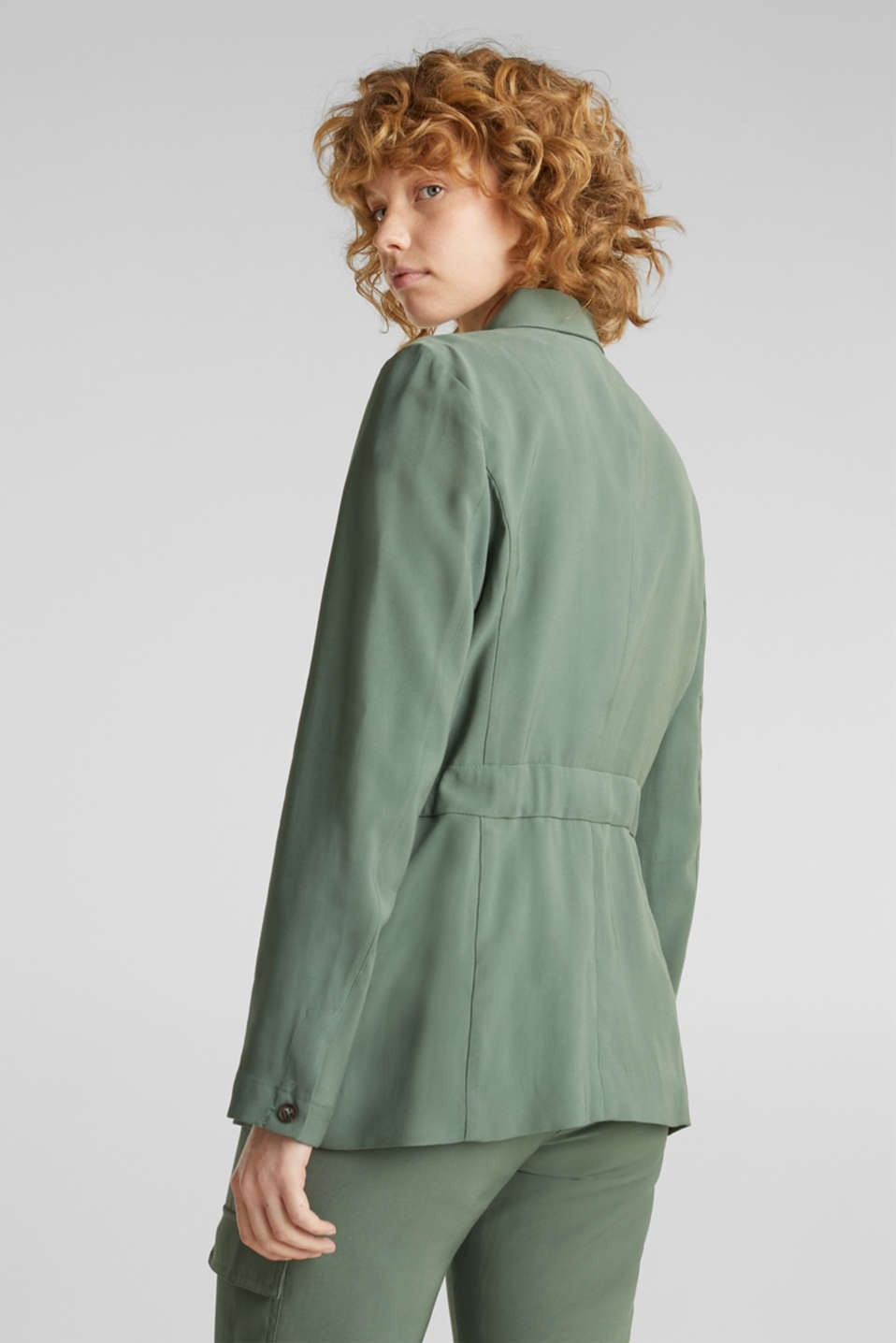 Utility-style shirt jacket, KHAKI GREEN, detail image number 3