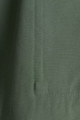 Utility-style shirt jacket, KHAKI GREEN, detail