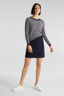 Jumper containing LENZING™ ECOVERO™, NAVY 4, detail