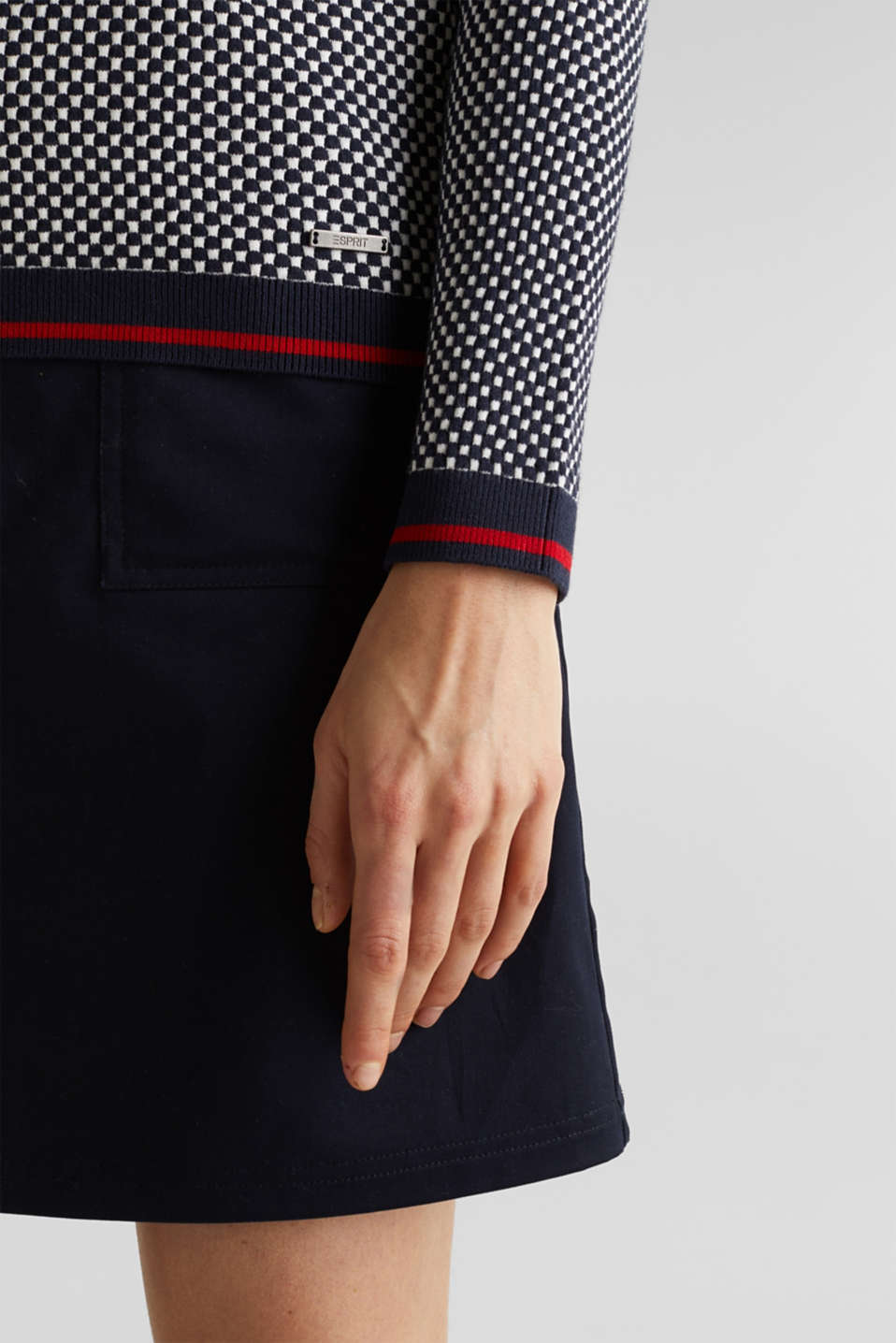 Jumper containing LENZING™ ECOVERO™, NAVY 4, detail image number 4