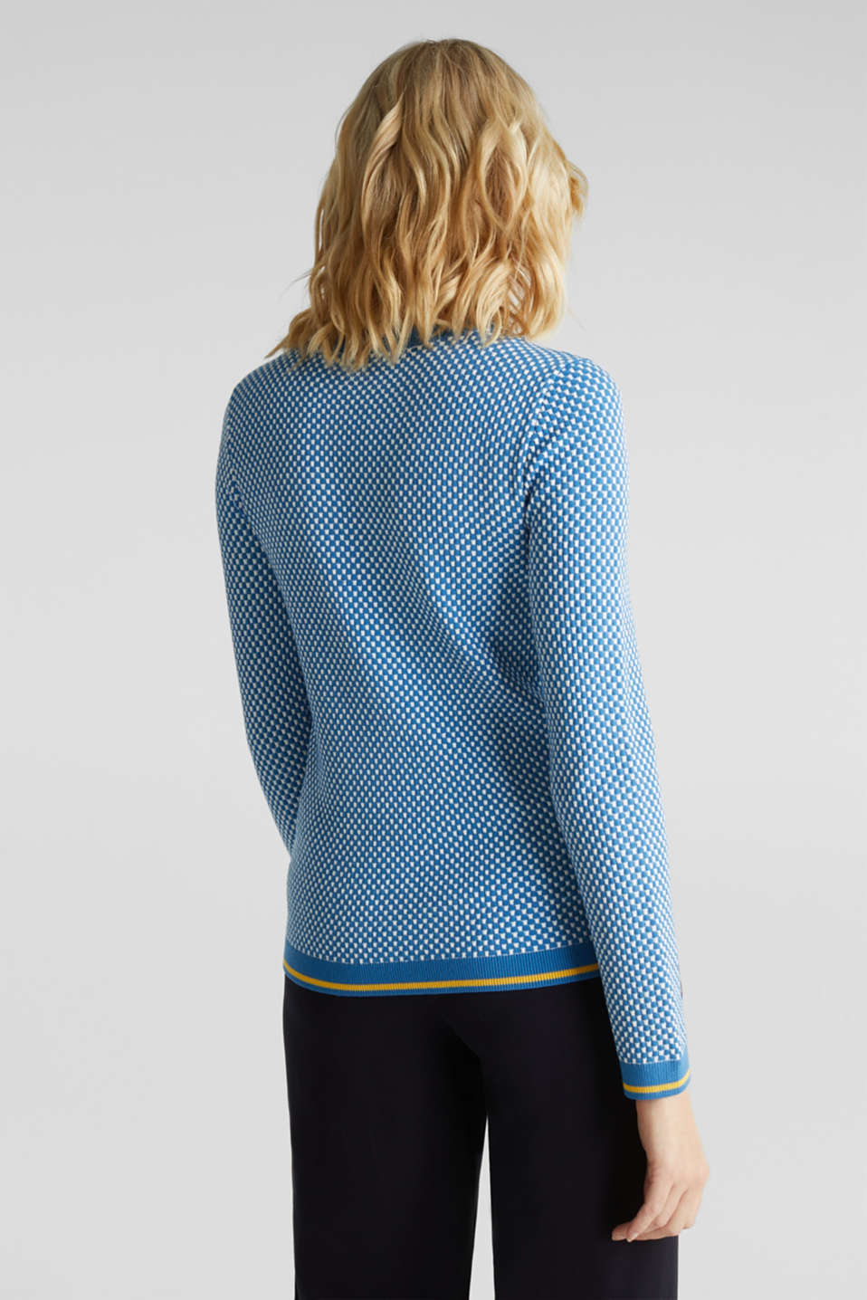 Jumper containing LENZING™ ECOVERO™, BRIGHT BLUE 4, detail image number 3