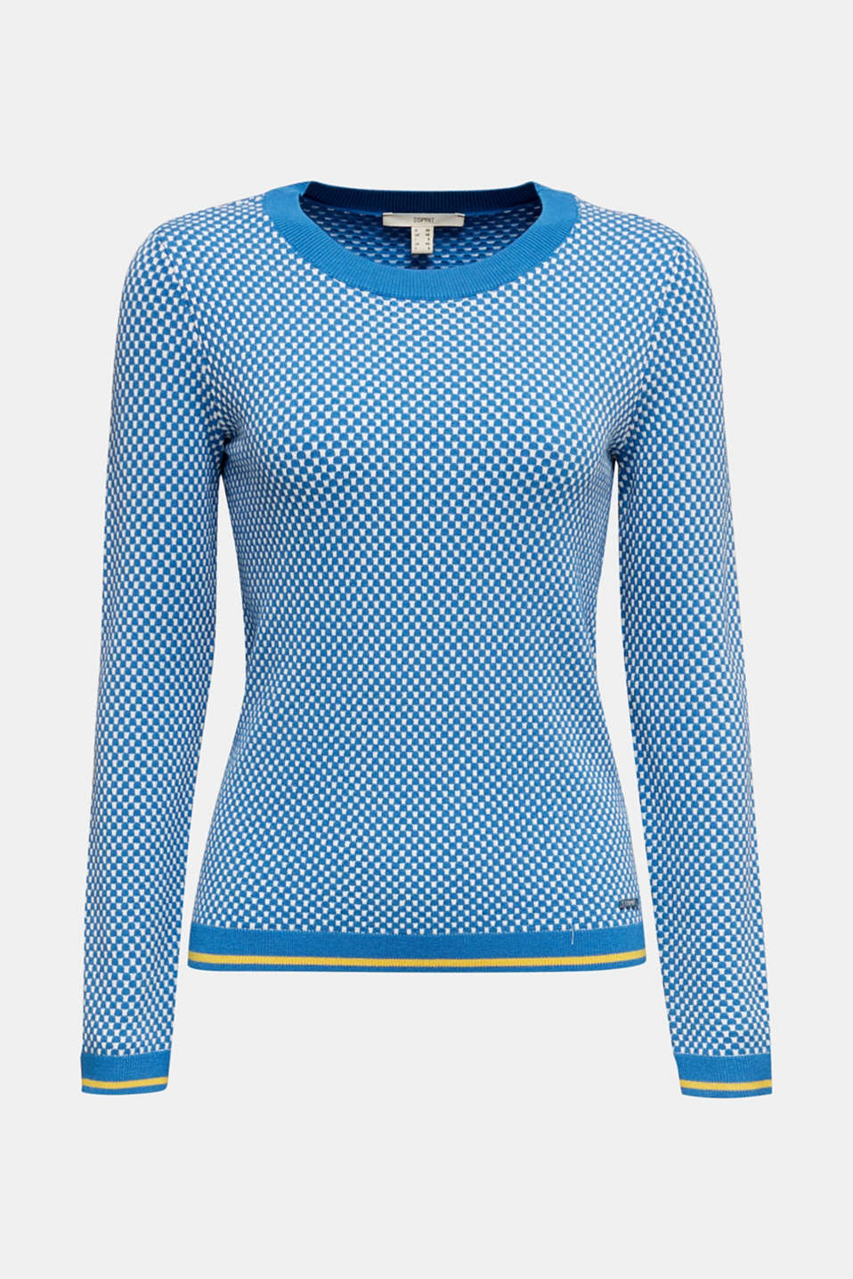 Jumper containing LENZING™ ECOVERO™, BRIGHT BLUE 4, detail image number 6