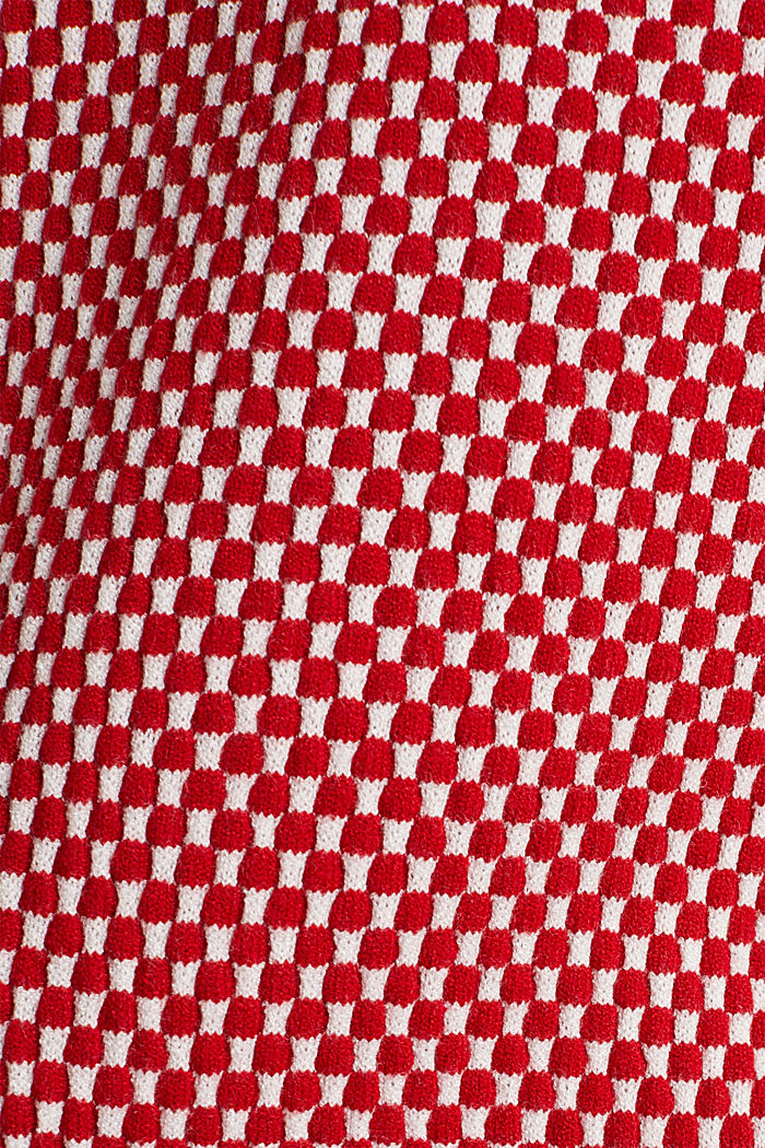 Pullover mit LENZING™ ECOVERO™, DARK RED, detail image number 4