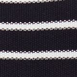 Lace-up detail jumper, 100% cotton, NAVY, swatch