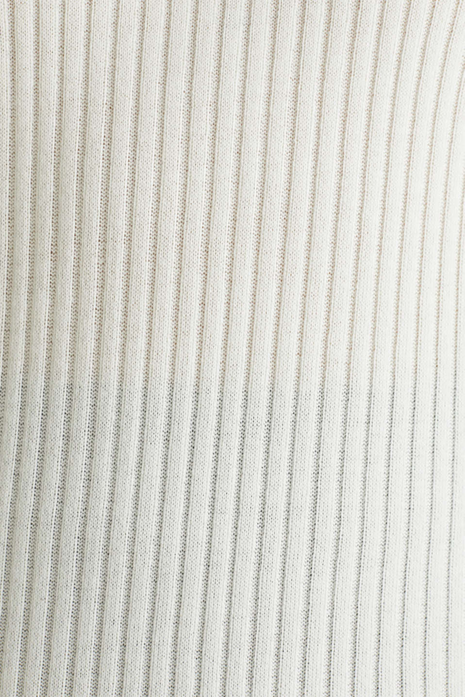 Short-sleeved V-neck jumper, OFF WHITE 3, detail image number 4