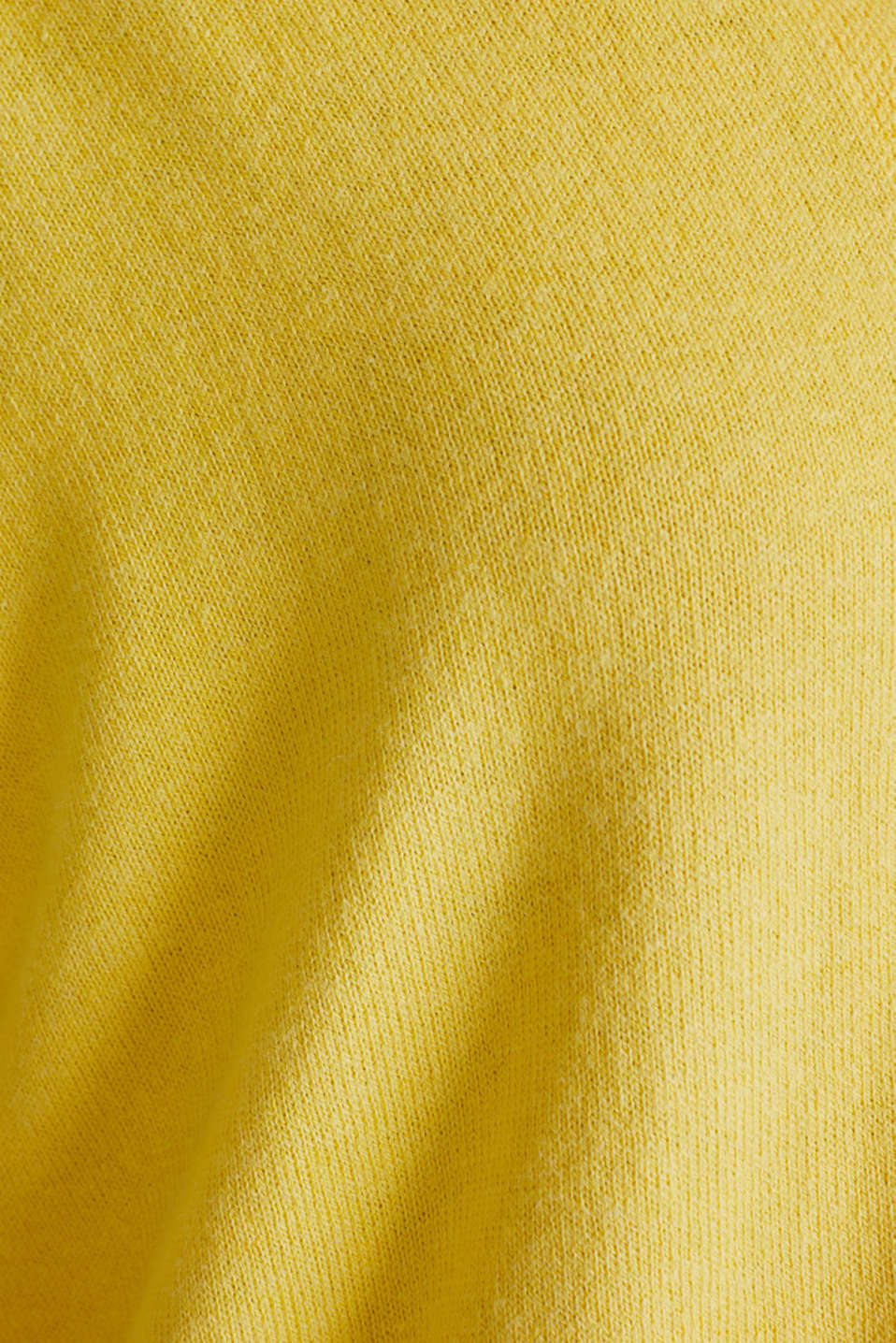 CURVY with linen: cardigan, YELLOW, detail image number 4
